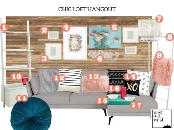 Chic Loft Hangout