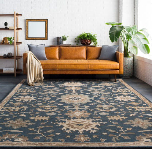 The Sohail Traditional Traditional/Oriental Rectangle Area Rug, from Wovenly